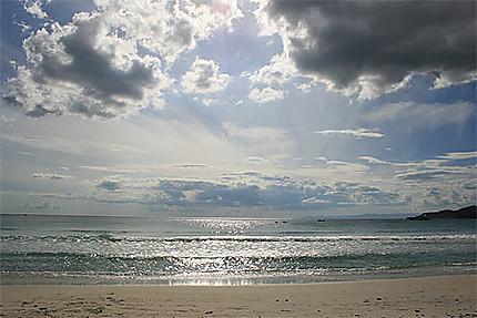 Belle plage de Capulongu