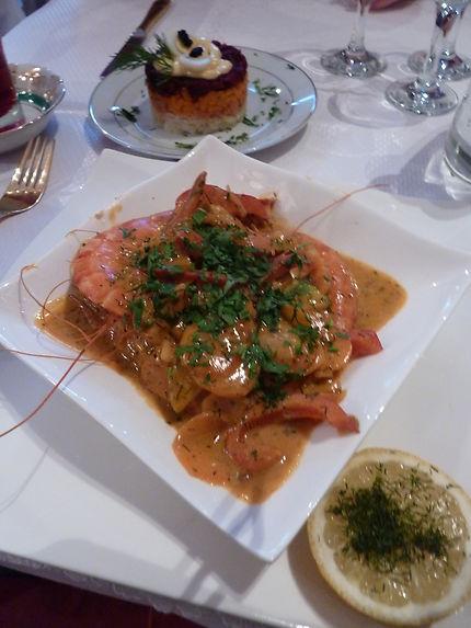 Cuisine russe à Paris !