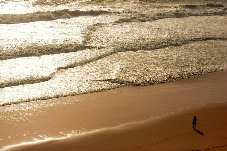 Face à la mer ! Faro, Portugal