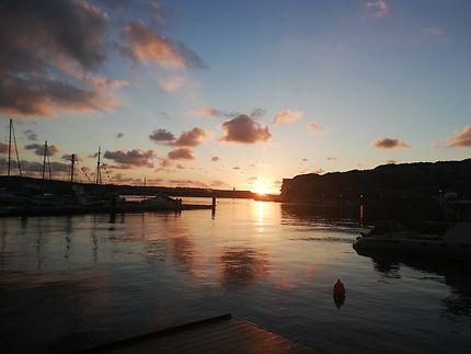 Lever de soleil sur Menorca
