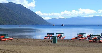 Le lac Caburgua