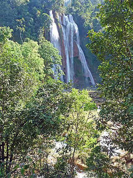 Les chutes d'Anisakan, près de Pyin U Lwin