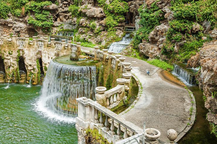 Les Plus Beaux Jardins Du Monde Villa D Este A Tivoli Environs