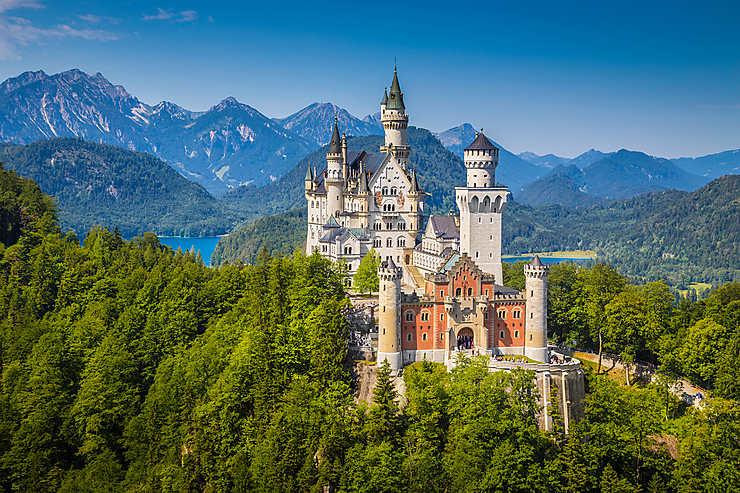 Route allemande des Alpes - Bavière, Allemagne