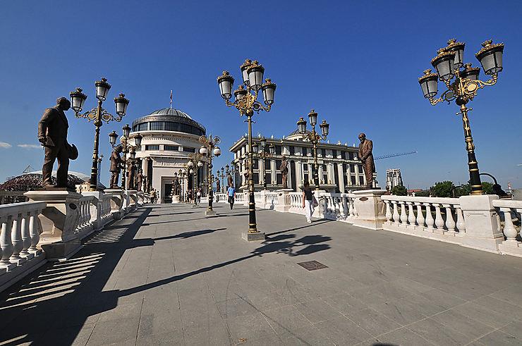 Skopje, à la découverte de la Macédoine