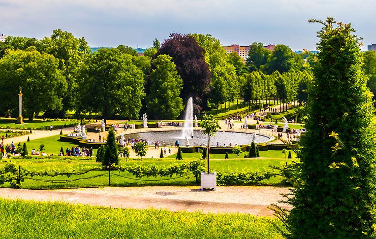 Parc de Sans-Souci - Potsdam, Allemagne