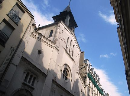 Façade de l'Eglise Saint Martin des Champs