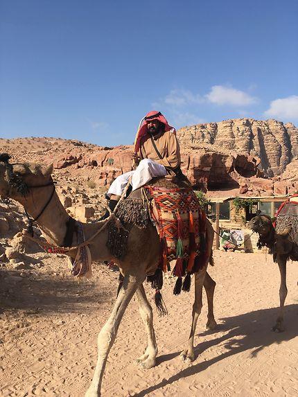 Balade à Petra, Jordanie