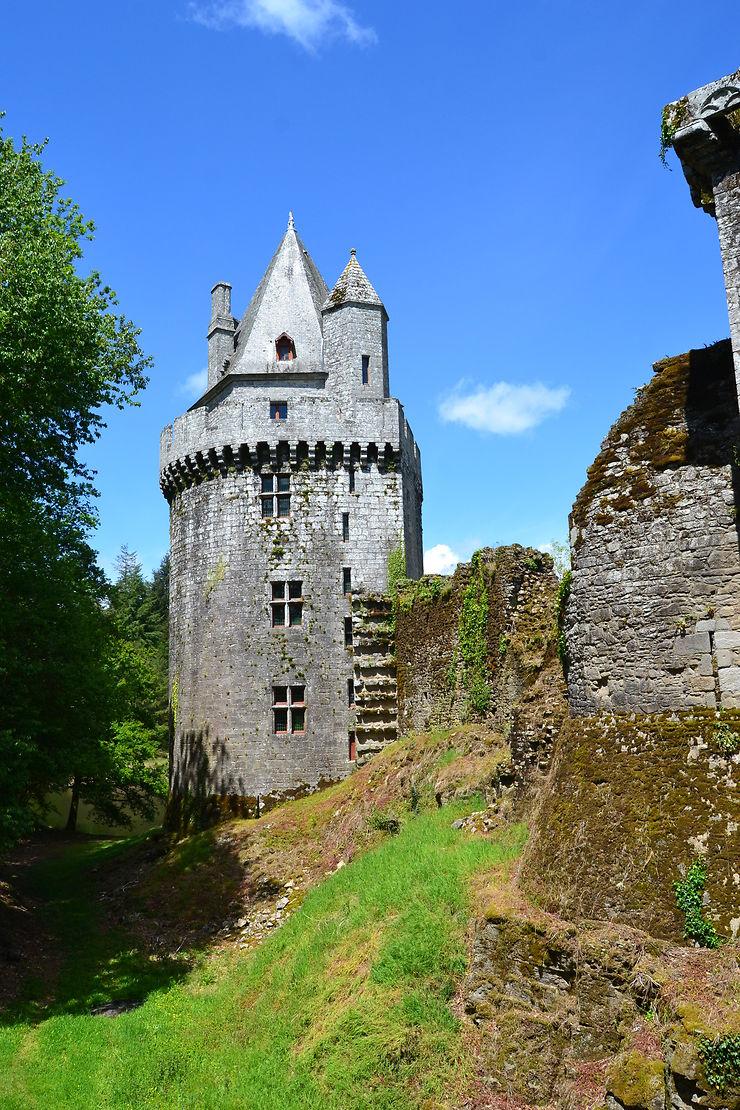 Donjon de la Forteresse de Largoët, Bretagne