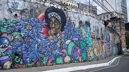 Street art à Salvador da Bahia