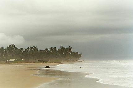 fin de mousson dans l'Etat de Goa