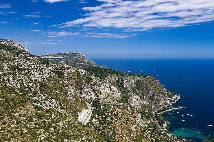 Grande et Basse Corniches - Côte d'Azur, France