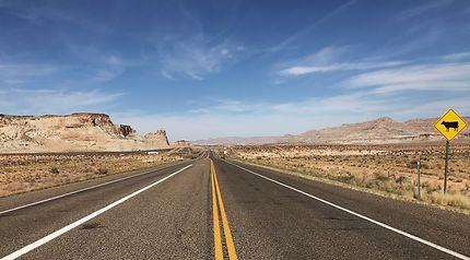 En route vers l'Utah