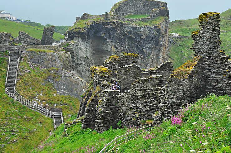Tintagel, un château légendaire
