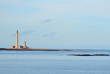 Vue sur le phare de Gatteville