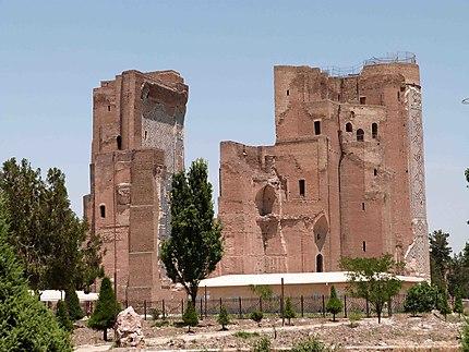 Les ruines d'Ak Sarai ou du Palais Blanc