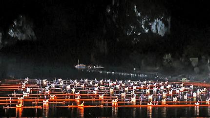 Son et lumière de Yangshuo