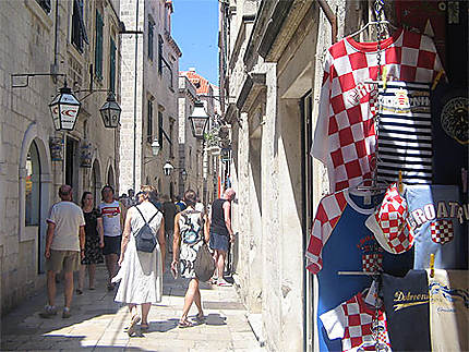 Dubrovnik - Ruelle touristique