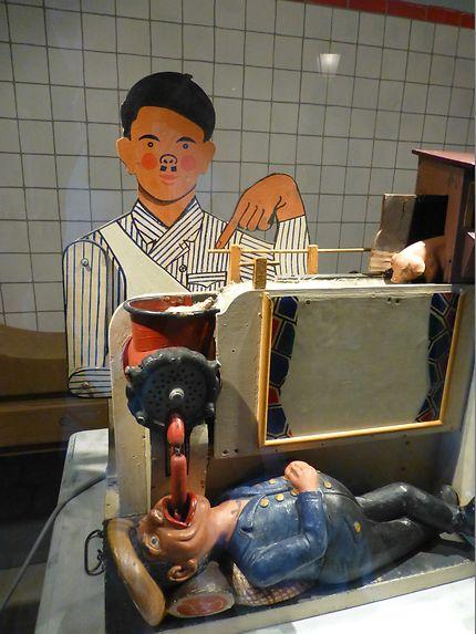 Oh hisse la saucisse, Musée des automates