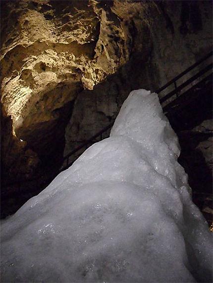 Un bloc de glace
