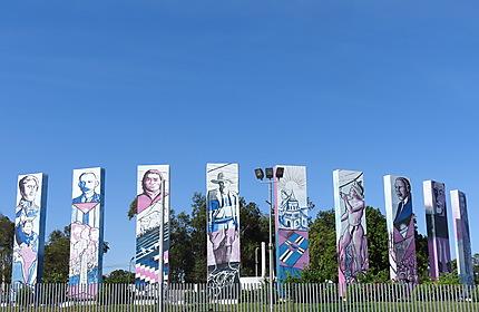Managua - Héros d'hier et d'aujourd'hui