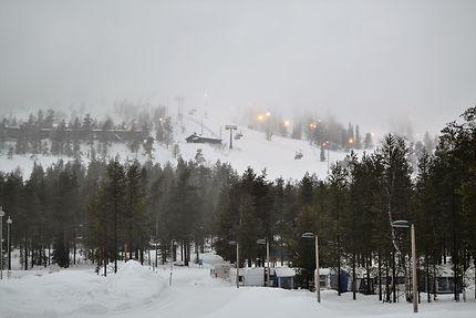 Pistes de ski à proximité du parc Pyha-Luosto