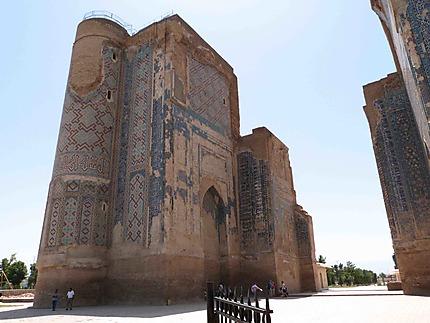 Les ruines d'Ak Sarai