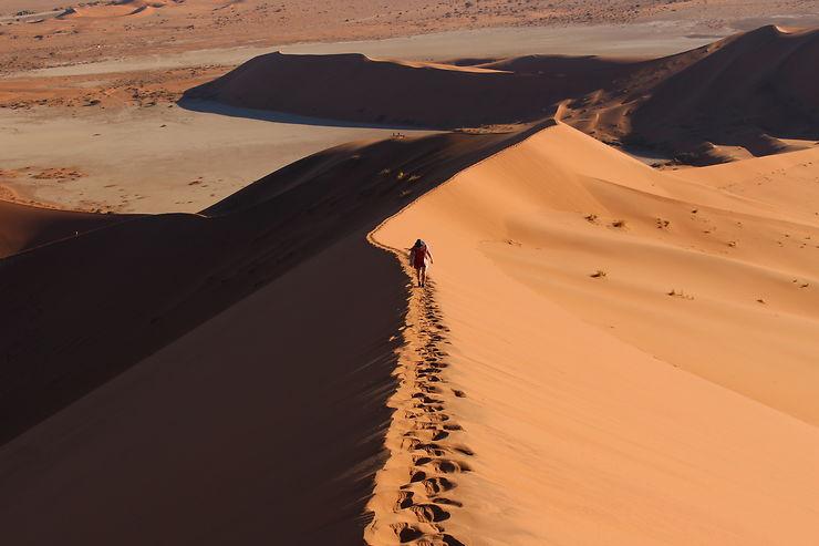 Ascension de Big Daddy, Namibie