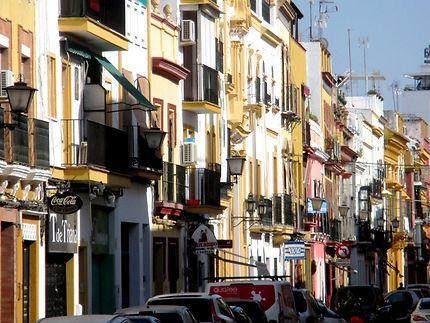 Dans les quartiers populaires de Séville