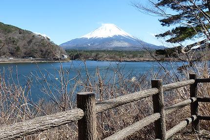 Mont Fuji vu du lac