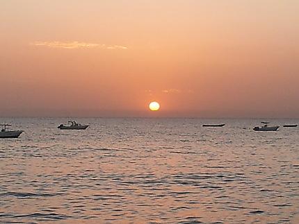 Saly et ses couchers de soleil...