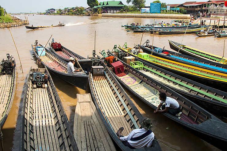 Le lac Inle : l'un des sites majeurs de la Birmanie