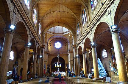 L'intérieur - Cathédrale San Francisco