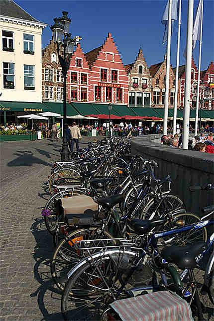 Grand-Place, Bruges, Belgique