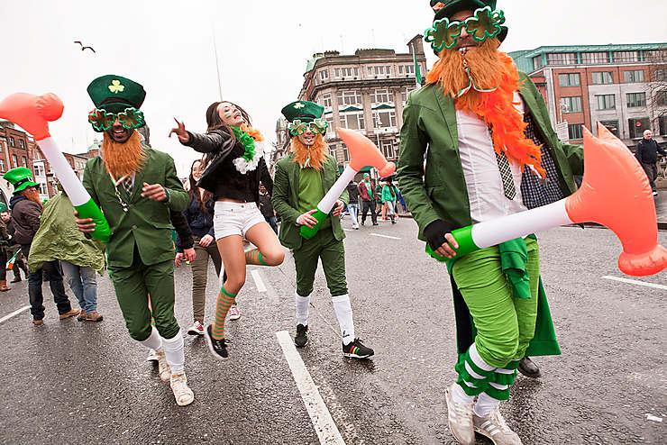 St. Patrick's Day and Festival en Irlande