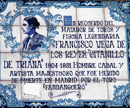 Azuli: hommage à Francisco de los Reyes, à Séville