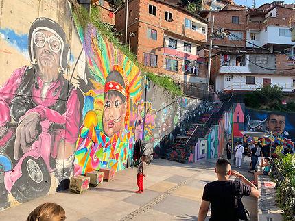 Comuna 13 fantastique à Medellín
