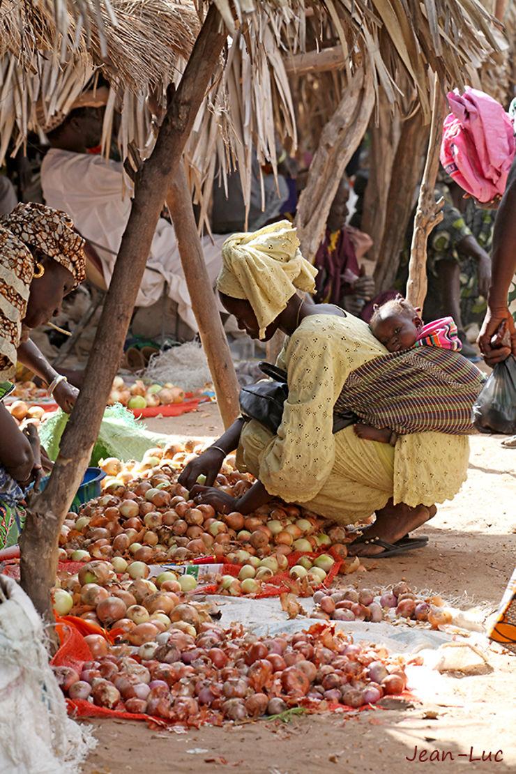 Marché de Toubacouta, Sénégal
