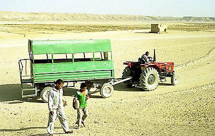 Transport à Amarna