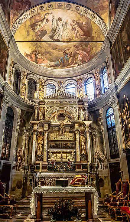 Autel de l'église San Rocco