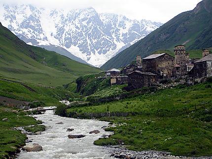 Ushguli Plus haut village habité toute l'année