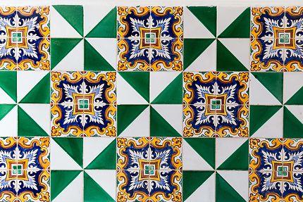 Alger - Palais des Raïs - Faïence peinte