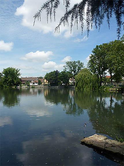 Livry-Gargan-Le lac de Sévigné
