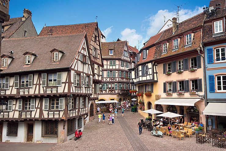 Colmar, la belle d'Alsace