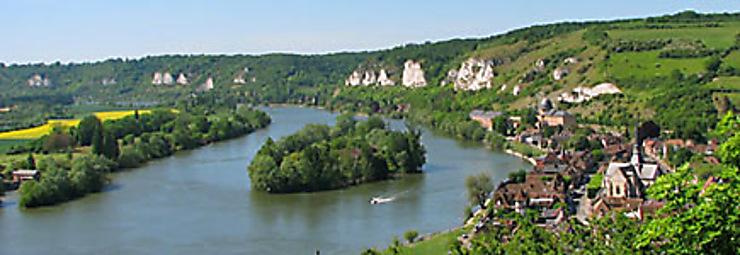 Normandie, au fil des boucles de la Seine