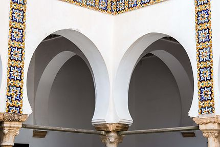 Alger - Palais des Raïs - Arcades