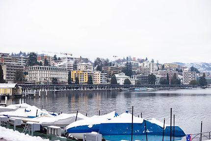 Lugano en Suisse
