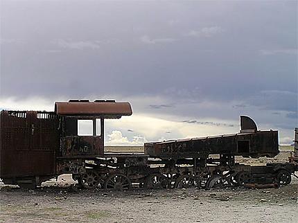 Cimetière de train
