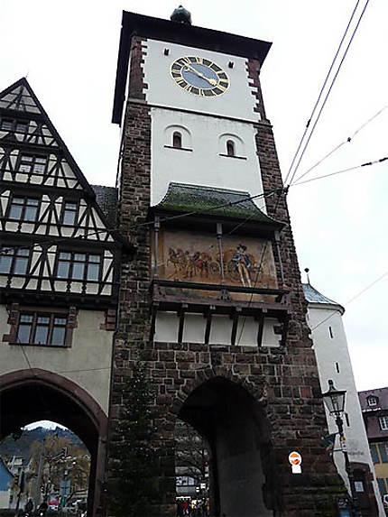 Une des portes de la ville de Fribourg