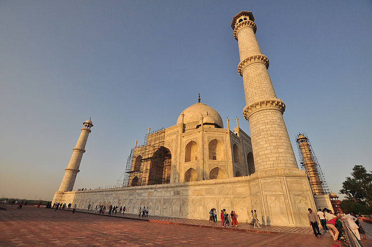 Le Taj Mahal, hymne à l'amour éternel
